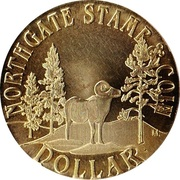 1 Dollar - Northgate Stamp & Coin – reverse