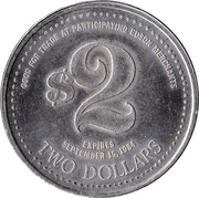 2 Dollars - Edson, Alberta – reverse
