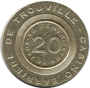 20 Cents - Casino Barriere (Trouville) – obverse