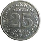 25 Cents - Gator Wash – reverse