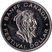 Festival Dollar - Banff, Alberta – obverse