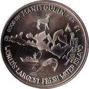 Haweater Dollar - Manitoulin Island, Ontario – obverse