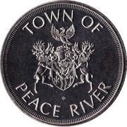 1 Dollar - Peace River, Alberta – obverse