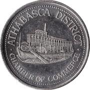 Athabasca Dollar - Athabasca, Alberta -  obverse