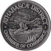 Athabasca Dollar - Athabasca, Alberta – obverse