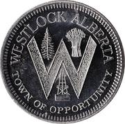 Westlock Dollar - Westlock, Alberta – obverse