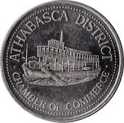 Dollar - Athabasca, Alberta – obverse