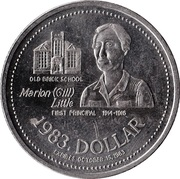 Dollar - Athabasca, Alberta – reverse