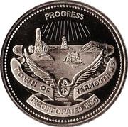 Trade Dollar - Yarmouth, Nova Scotia – obverse