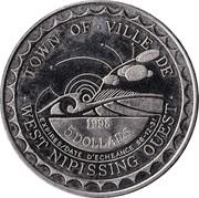 5 Dollars - West Nipissing, Ontario – reverse