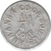 ¼ Pound Loaf - Runanga Co-op. Soc. Ltd. – obverse
