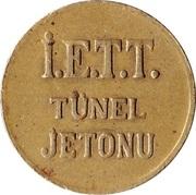 Token - İ.E.T.T. Tünel (Istanbul; 17.5 mm) – reverse