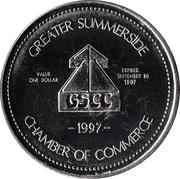 Confederation Bridge Dollar - Summerside, Prince Edward Island – reverse