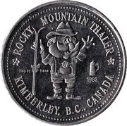 Rocky Mountain Thaler - Kimberley, British Columbia – obverse