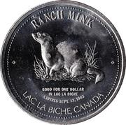 1 Dollar - Lac La Biche, Alberta – reverse