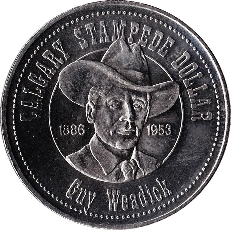 Stampede Dollar Calgary Alberta Tokens Numista
