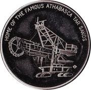 Centennial Medallion - Fort McMurray, Alberta – obverse