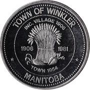 Dollar - Winkler, Manitoba – obverse