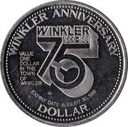 Dollar - Winkler, Manitoba – reverse