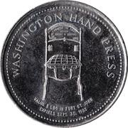 1 Dollar - Fort St. John, British Columbia – reverse