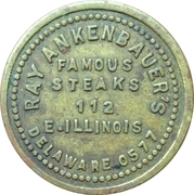 5 Cents - Ray Ankenbauer's (Chicago, Illinois) – obverse