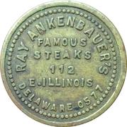 5 Cents - Ray Ankenbauer's (Chicago, Illinois) – obverse