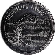 Banff-Lake Louise Dollar - Banff, Alberta – reverse
