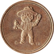 50 Cents - Klondike Days Casino (Edmonton, Alberta) – obverse