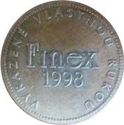 Token - Kremnica Mint (FINEX 1998) – reverse