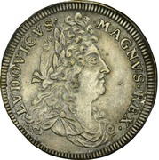 Counter Token - Louis XIV (Nuremberg) – obverse