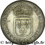 Counter Token - Louis XIV (Nuremberg) – reverse