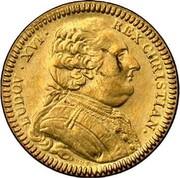 Token - Louis XVI (Bretagne; Rennes; restrike) – obverse