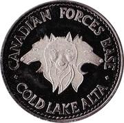 Centennial Medallion - CFB Cold Lake, Alberta – obverse