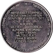Medallion - Pembroke, Ontario – obverse
