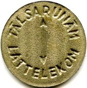 Telephone Token - Talsarunam Lattelekom (Riga) – reverse