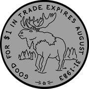 1 Dollar - High Prairie, Alberta – reverse