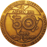 AIESEC IPM 2008 – obverse