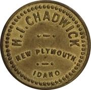 5 Cents - H.I. Chadwick (New Plymouth, Idaho) – obverse