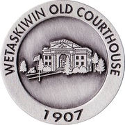 Medallion - Wetaskiwin, Alberta (City Hall) – obverse