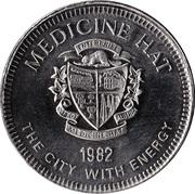 Medallion - Medicine Hat, Alberta (River Valley Parks) – reverse