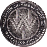 Medallion - Walkerton, Ontario (International Plowing Match) – obverse