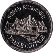 Medallion - Victoria, British Columbia (Fable Cottage) – obverse