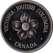 Medallion - Victoria, British Columbia (Fable Cottage) – reverse