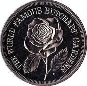 Medallion - Victoria, British Columbia (Butchart Gardens) – obverse