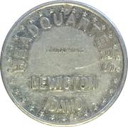 10 Cents - Headquarters (Lewiston, Idaho) – obverse
