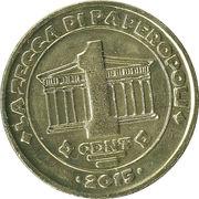 1 Cent - La zecca di Paperopoli – reverse