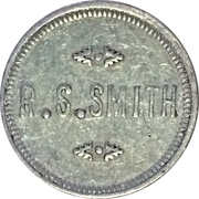 5 Cents - R.S. Smith (Potlatch, Idaho; Bracketed Obverse) – obverse