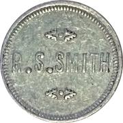 5 Cents - R.S. Smith (Potlatch, Idaho; Bracketed Obverse) – obverse