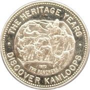 Spoolmak Trade Dollar - Kamloops, British Columbia – obverse