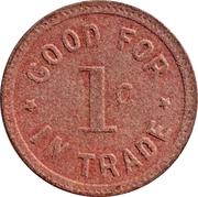 1 Cent - A.P. & C. CORP. (Trona, California) – reverse